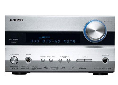 【Amazonの商品情報へ】ONKYO AVセンター SA-205HD(S)