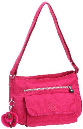 Kipling Women's Syro Shoulder Bag Carnation Pink K13163124