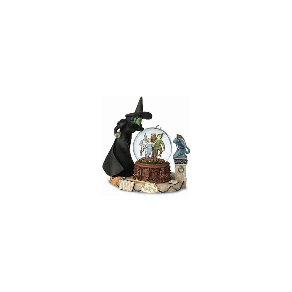 Wicked Witch Crystal Ball Water Globe