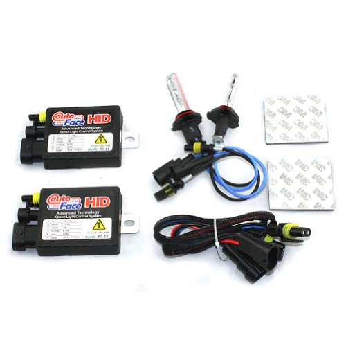Car HID Xenon Single Beam Conversion Kit (12V, 35W) - 2 pcs HID 813A Ballasts with 2 pcs H3 Xenon HID Bulbs Lamps Lights 6000K