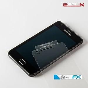 atFoliX FX-Clear Film de protection d'écran pour Samsung Galaxy S2 i9100
