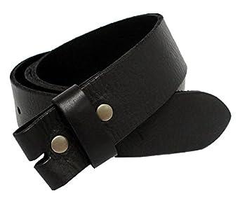 """BS-40 Vintage Full Grain Leather Belt Strap 1 1/2"""" Wide (30, Black)"""
