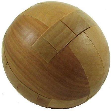 Sphere 3D Wooden Puzzle Brain Teaser - 1