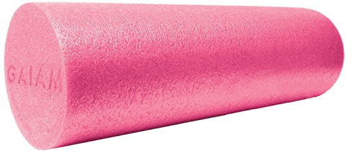gaiam-restore-muscle-therapy-foam-roller-pink-18-inch