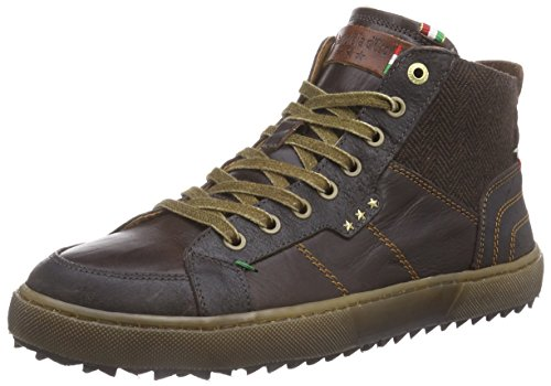 Pantofola d'Oro MISANO, Sneaker alta uomo, Marrone (Braun (After Dark)), 40