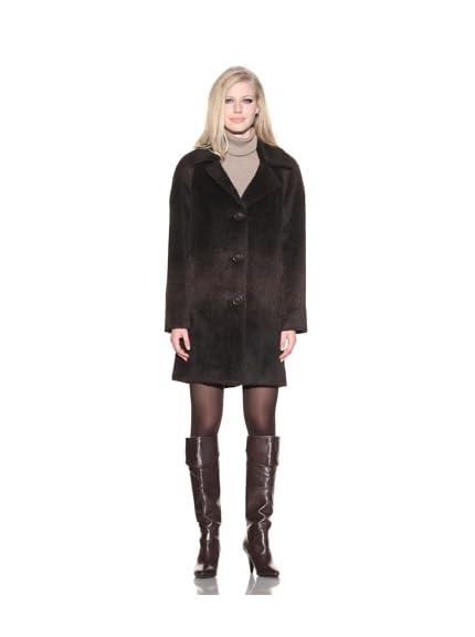 Dale Dressin Women's Suri Alpaca Wool Coat