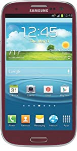 Samsung Galaxy S III 4G Android Phone, Red (AT&T)