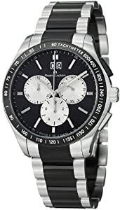 Maurice Lacroix Miros Chronograph Black Dial Stainless Steel Mens Watch MI1028-SS002331 from Maurice Lacroix