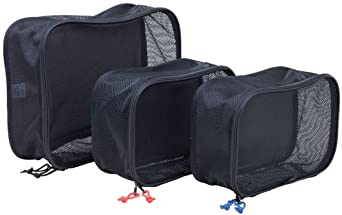Rick Steves Packing Cube- 3 Set, Black