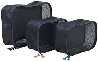 Rick Steves Packing Cube- 3 Set, Black