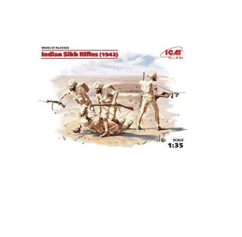 ICM Models Indian Sikh Rifles 1942 Model Kit (1/35 Scale)