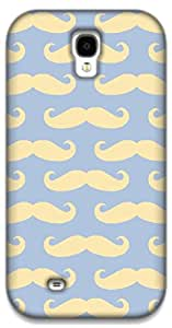 The Racoon Lean Mustaches hard plastic printed back case / cover for Samsung Galaxy S4