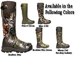 18 inch LaCrosse Alphaburly Pro Realtree Xtra Hunting Boots, RT XTRA GRN, 10M(D)