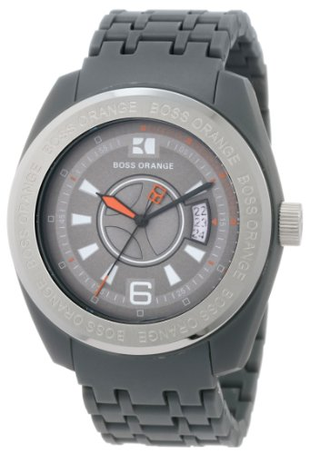 Hugo Boss 1512541 43 Plastic Case Grey Plastic Women's Watch