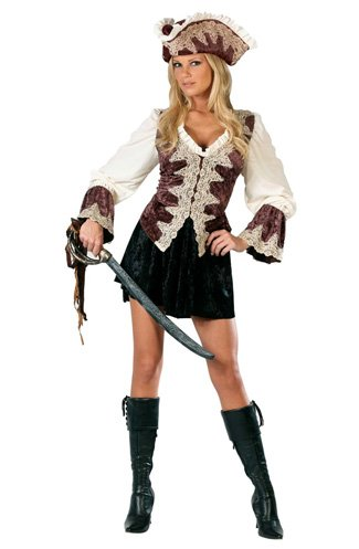 Pirate Captain's Wench Adult Costume