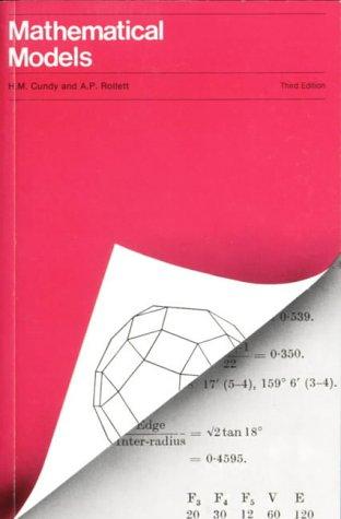 Mathematical Models. Third Edition.