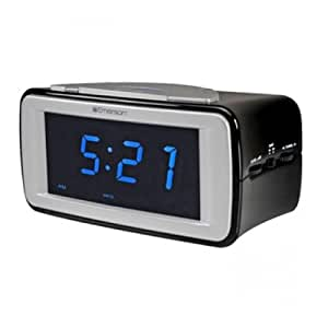 emerson dual alarm am fm smartset clock radio cks9031 kitchen dining. Black Bedroom Furniture Sets. Home Design Ideas