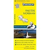 Carte Finistère, Morbihan Michelin