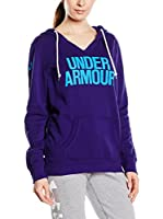 Under Armour Sudadera con Capucha Wordmark P/O (Azul / Turquesa)