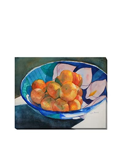 Lynne Atwood Clementines Weather-Resistant Canvas Print