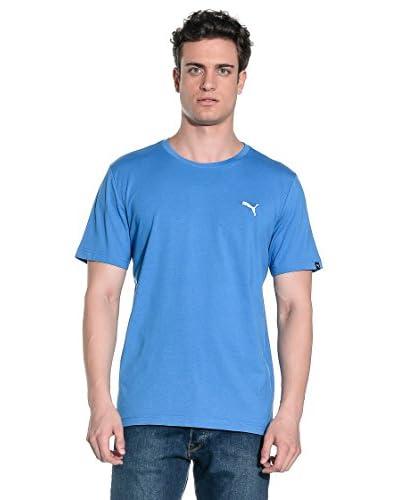 PUMA T-Shirt Manica Corta Ess Tee [Blu Scuro]