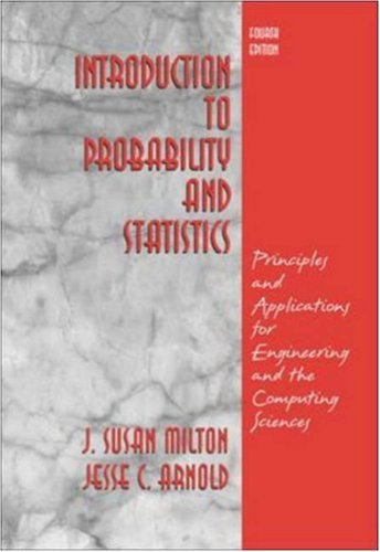 Introduction to Probability and Statistics: Principles...