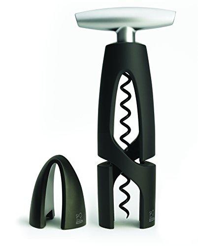Peugeot Saveurs 200459 Tire-Bouchon avec Coupe-Capsule Zamack Noir
