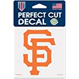 "MLB San Francisco Giants 93903010 Perfect Cut Color Decal, 4"" x 4"""