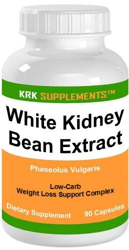 1 bouteille de haricot blanc Extrait 500mg 90