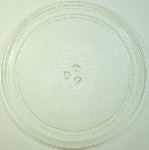 Mikrowellenteller / Drehteller / Glasteller für Mikrowelle # ersetzt Gaggenau Mikrowellenteller # Durchmesser Ø 32,5 cm / 325 mm # Ersatzteller # Ersatzteil für die Mikrowelle # Ersatz-Drehteller # OHNE Drehring # OHNE Drehkreuz # OHNE Mitnehmer