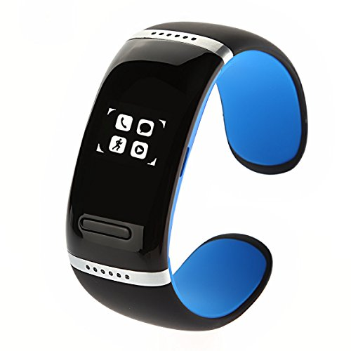 Oceantree Bluetooth Smart Bracelet Wrist Watch Phone For Ios Android Samsung Iphone Htc Oled Display (Blue)