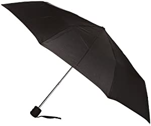 Fulton Fulton Stowaway 23 Black Unisex_adult Umbrella Black One Size