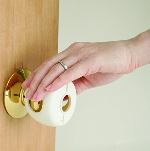 Safety 1st Grip N' Twist Door Knob Cover, 12-Count (Safety First Knob Covers compare prices)