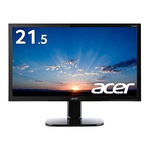 Acer ディスプレイ モニター KA220HQbmidx 21.5インチ/HDMI端子付/スピーカー付/フリッカーフリー