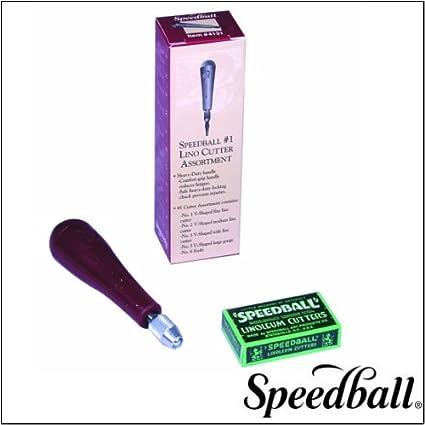 Speedball Linoleum Cutter with Handle