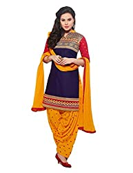 Shayona Salwar suit for women & girls(blue&yellow)