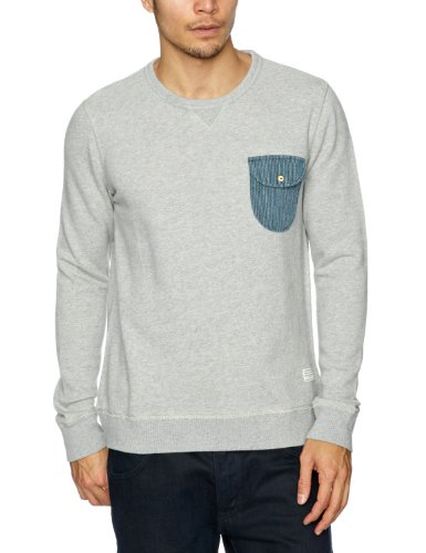 Cottonfield Ruepen Men's Sweatshirt Light Grey Melange Small