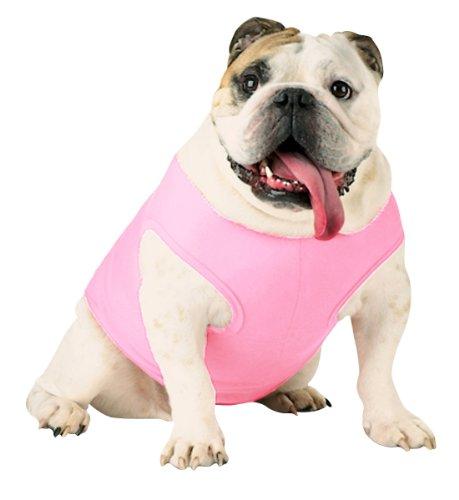 Doggie Skins Baby Rib Tank - Pink - M