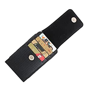 DooDa PU Leather Pouch Case Cover With Magnetic Closure For Spice Stellar 509