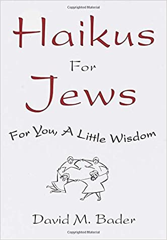 Haikus for Jews: For You, a Little Wisdom written by David M. Bader
