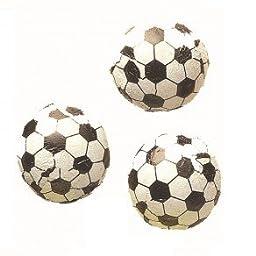 Chocolate Foil Soccer Balls (1 Lb - Approx 83 Pcs)