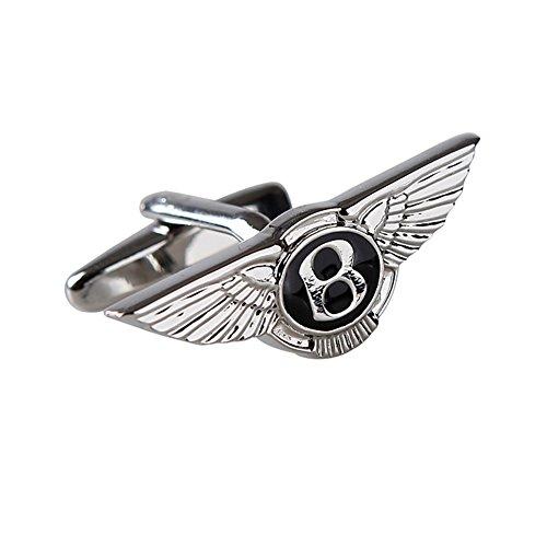 tns-silver-bentley-mark-cufflinks-cuff-links