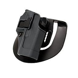 BlackHawk Serpa SpoRusseter Belt Holster For Glock19 Right Hand Grey