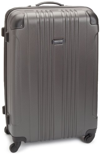 """Kenneth Cole Reaction Out of Bounds 28"""" 4 Wheel Upright, Charcoal, Large"""
