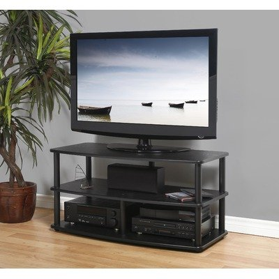 Cheap SE-Series 3-Shelf TV Stand – Black (SE-V3 (42) (B)-B)
