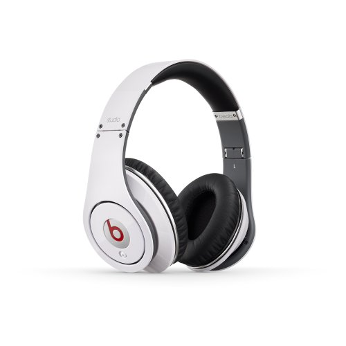 Beats Studio Over-Ear Headphone (White) [Old Version]