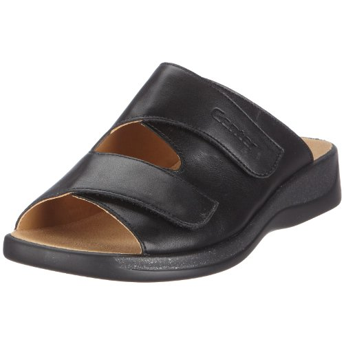 Ganter Monica, Weite G Clogs And Mules Womens Black Schwarz/schwarz Size: 3.5 (36 EU)