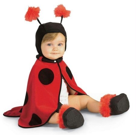 Costumes For All Occasions Ru11570I Lil Ladybug Infant 3-12 Mos