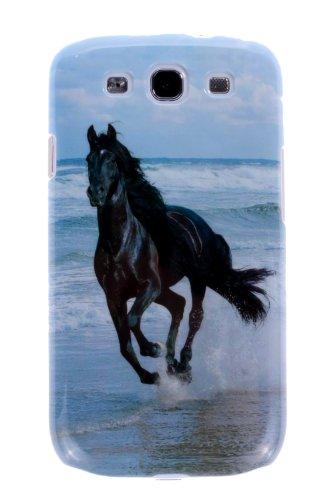 meroTronic Back Cover für Samsung Galaxy S3 PFERD Bild