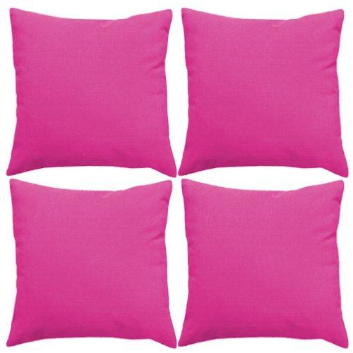 Wasserfeste Kissen für Draußen 46cm Rosa – 4er Pack online kaufen